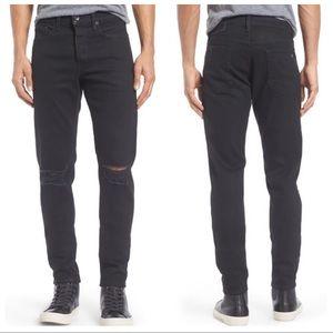 Rag & bone Men's Fit 1 Skinny-Fit Distressed Jean